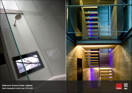 Ванна и лестница